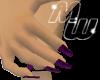 Lng on sm hands, purple