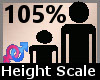 Scaler Height 105% F A