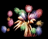 fireworks lazer animated