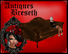 BS* Antique Brown Couch