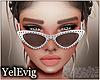 [Y] Emma white sunglass