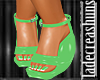Mint Summer Wedges