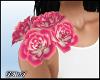 D- Floral Corsage Rose