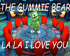 Gummie bear-I love you