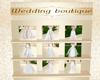 Wedding Boutique Display
