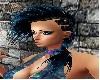 Mathilda Black Blue Hair