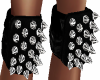 Spiked Leather Knee Pads