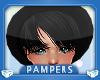 ! KIDS Black Hat + Hair