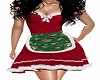Christmas Dress W Apron