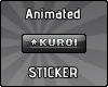 [k] Kuroi sticker