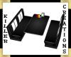 (Y71) Diner Booth (Black