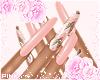 ♔ Nails ♥ Pink Disco