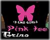 T. Pink Tee-Luv EMO girl
