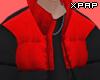 【P】 Red Padded Coat
