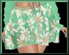 Floral Skirt MINT