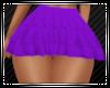 Purple Ruffle Skirt RL