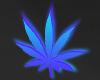 Weed Neon galaxy