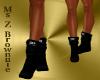 Girls D&G Black Boots
