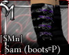 [SMn] Sam Boots (Purple)