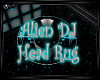 Alien Dj Head Rug