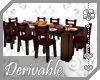 ~AK~ Dinner Table+Chairs