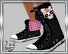 [Ly]Fancy Skull Converse