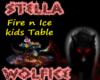 Fire n Ice kids table