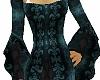 Teal Tudor Gown