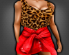 Red Leopar Outfit