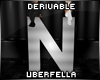 Derivable Letter N