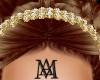 *Diamond&Gold Headband