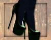 LKC Atumn Green Heels