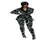 TEF P3NT ARMY FIT
