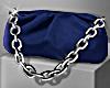 Summer Blue Chain Pouch