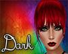 Dark Red Bangs