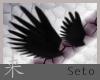 Black Head Wings