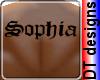 Sophia back tattoo