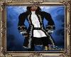 PHV Pirate Dress Coat Bl