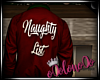 .L. Naughty List Red