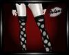 poka-dot stockings