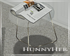 H. Side Glass Table