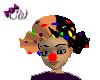 Orange Clown Hat