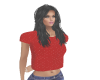 red dazzle top