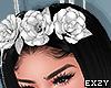 Floral Diadem Silver.