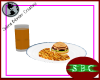Burger & Chips w/ Drink