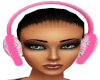 Woman Winter Pink EarMuf