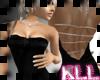 [KLL] SATIN DRESS BLACK