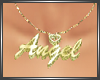 SL Angel Necklace Gold F