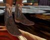 (CB)Sued Cowboy Boots