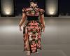 Floral Asian Dress